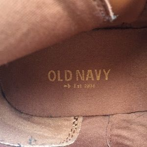 Old Navy Shoes - Old Navy Ankle Boots
